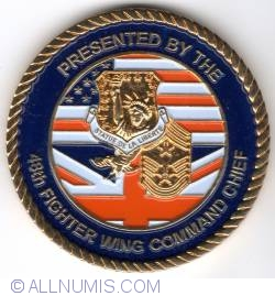 Imaginea #2 a 48th Fighter Wing Command Chief