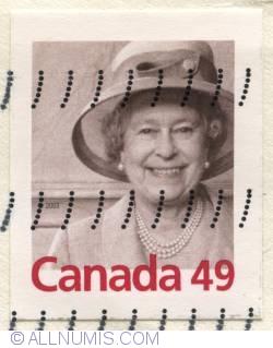 Imaginea #1 a 49¢ 2003-Queen Elizabeth II