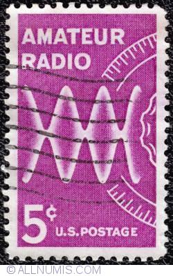 Image #1 of 5¢ Amateur radio 1964