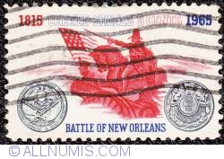 Image #1 of 5¢ Battle of New Orleans 1965