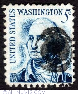 Image #1 of 5¢ George Washington 1966