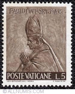 Image #1 of 5 L  1966 - Paulus VI