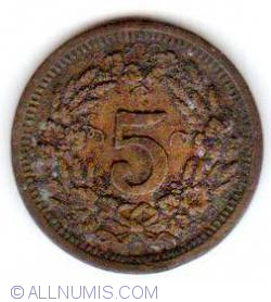 Image #2 of 5 Rappen - Basel 1923