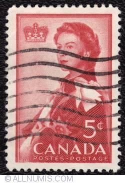 Imaginea #1 a 5¢ Royal Visit 1959