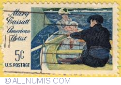 Image #1 of 5¢ The Boating Party_Mary Cassatt 1966