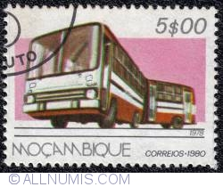 5$00 Articulated Bus 1980