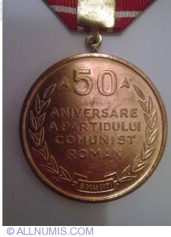 Image #2 of 50th anniversary of the Romanian Communist Party