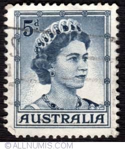 Image #1 of 5 Penny  Queen Elizabeth II