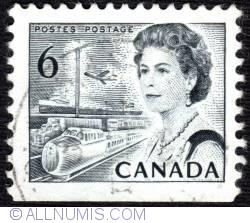 Imaginea #1 a 6¢ 1970 - Elizabeth II, Transport and Communications