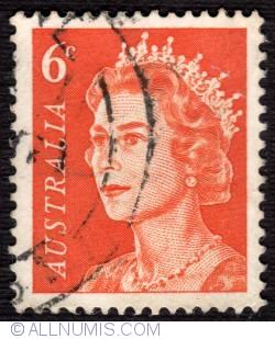 Image #1 of 6¢ Queen Elizabeth II 1970
