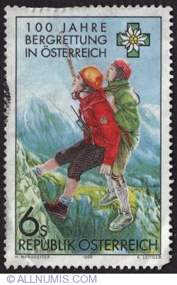 Image #1 of 6s 100th years in Austria Mountain Rescue 1996