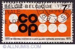 Image #1 of 7 Francs 1970 - Co-Op stamp