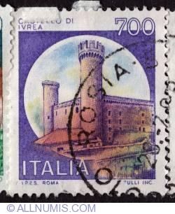 Image #1 of 700 Lire 1980 - Castello d'Ivrea, Torino