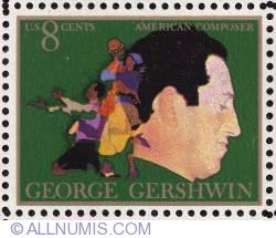 Image #1 of 8¢ George Gershwin 1973