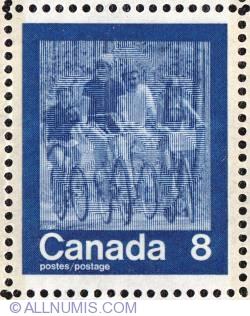 Imaginea #1 a 8¢ Keeping Fit summer-Biking 1974