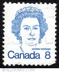 Imaginea #1 a 8¢ 1973 -  Queen Elizabeth II