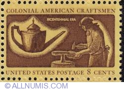 Image #1 of 8¢ Silversmiths 1972