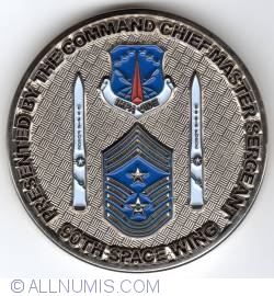 Imaginea #1 a 90th Space Wing Chief Master Sergeant