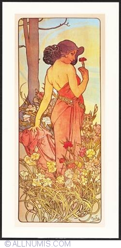 Image #1 of Alphonse Mucha-Carnation 1898