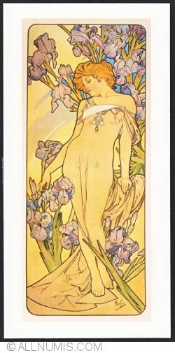 Image #1 of Alphonse Mucha-Iris 1898