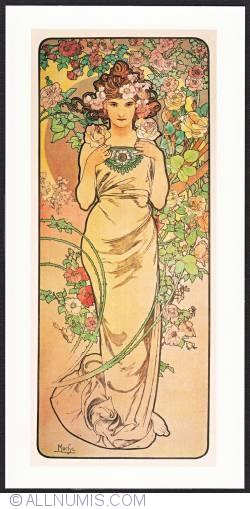 Image #1 of Alphonse Mucha-Rose 1898