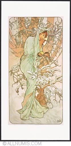 Image #1 of Alphonse Mucha-Winter 1896