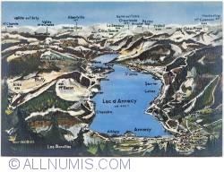 Imaginea #1 a Annecy - Harta lacului