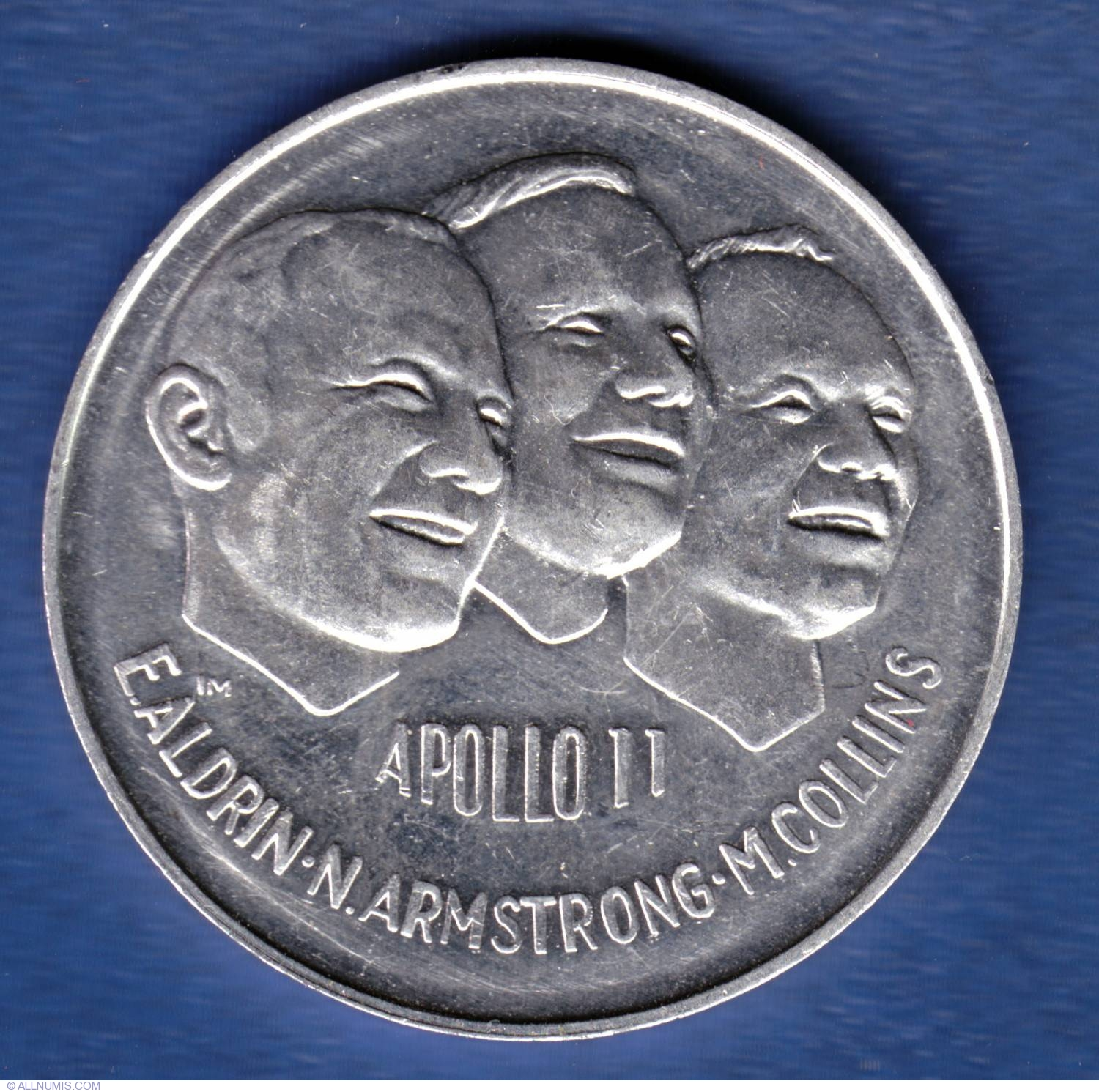 Apollo 11 Project Apollo Coin - Pics about space