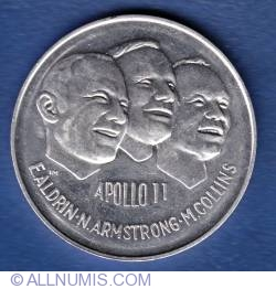 Image #1 of Apollo 11 Medallion 1969