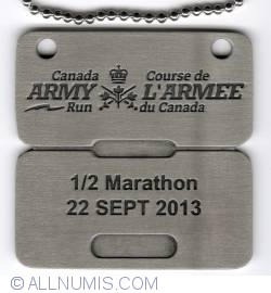 Image #1 of Army Run ½ Marathon 2013