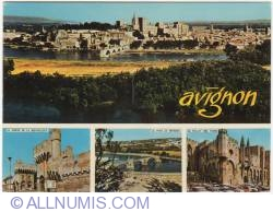 Image #1 of Avignon - Views on the city (1973)