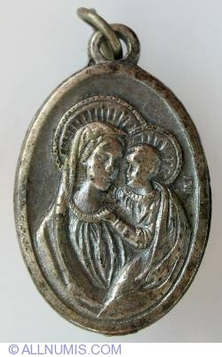Image #1 of Blessed Virgin Mary and Infant