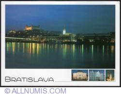 Image #1 of Bratislava-view at night 2005