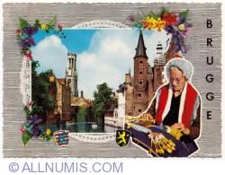 Image #1 of Bruges - dentelière (lace) 1970