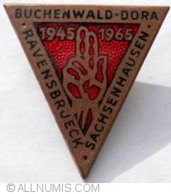 Image #1 of Buchenwald-Dora-Ravensbrueck-Sachsenhausen concentration camp liberation anniversary