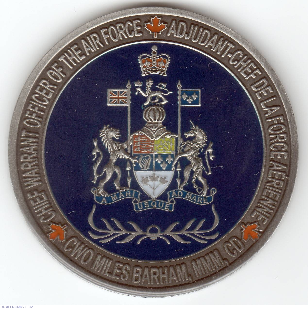 challenge coins made in canada