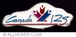 Imaginea #1 a Canada 125th anniversary (white)