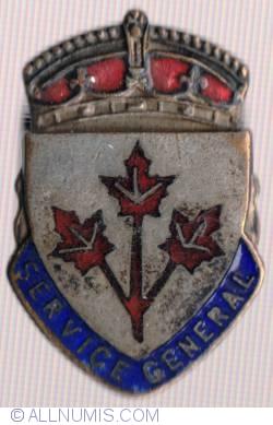 Imaginea #1 a Canada War Service Badges - General Service