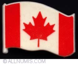 Imaginea #1 a Canadian flag type 1