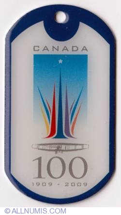 Image #1 of Canadian Centennial of Flight-type 2