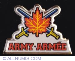 Imaginea #1 a Canadian Forces Army logo
