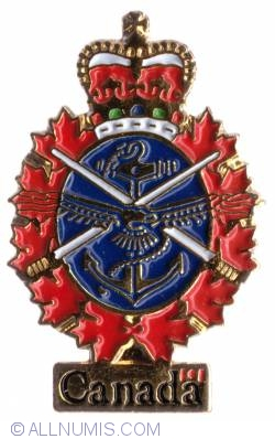 Imaginea #1 a Canadian Forces Emblem 11x25