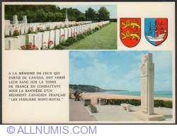 Image #1 of Dieppe - Canadian military cemetery - 1970