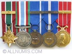 Image #1 of Canadian military decorations, GCS_SWA, CPSM, NATO_FY, NATO_ART 5, CD