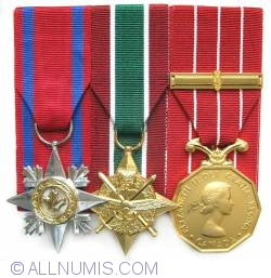 Image #1 of Canadian military decorations, SC, GCS-SWA, CD