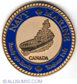 Image #1 of Canadian Navy Commander's coin 2010