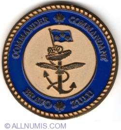 Image #2 of Canadian Navy Commander's coin 2010