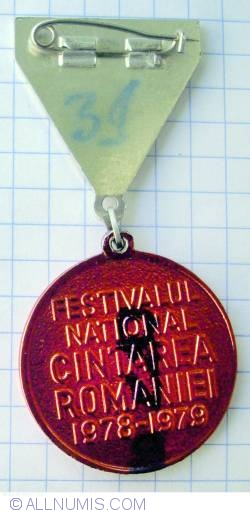 Image #2 of Romania's Folk song Festival 78-79  Second Place