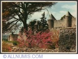 Image #1 of Carcassonne-The fortress at spring time-1970
