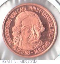 Imaginea #1 a Carl Philipp Emanuel Bach commemoration 1988